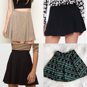 Brandy Melville Circle Aline Skater SkirtBundleBox